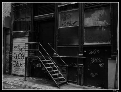 New York Black Stairs