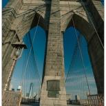 New York Brooklyn Bridge Arches