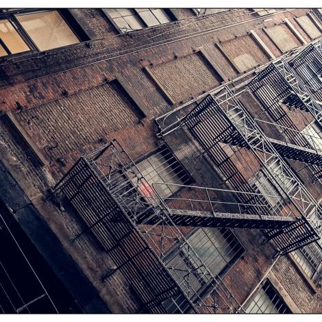 New York Brown Stairs