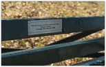"New York Central Park Bench Quote ""As Big As You Feel"""