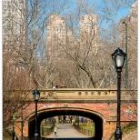 New York Central Park Bridge