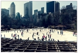 New York Central Park Ice Skatting