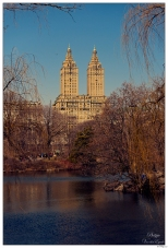 New York Central Park Lake View