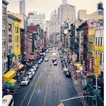 New York Chinatown from Mahanttan Bridge