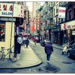 New York Chinatown Street