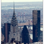 New York Chrysler Building From Top of The Rock