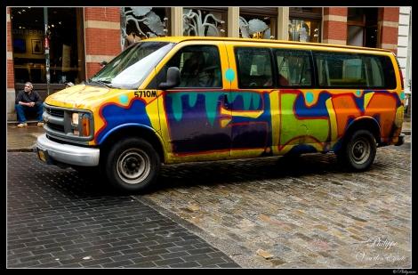 New York Colorfull Van