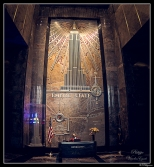 New York Empire State Entrance