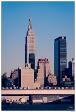 New Yorker Empire State From River