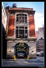 New York GhoostBusters Fire Station