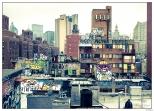 New York Grafitty From Mahattan Bridge