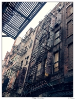 New York Old Stairs