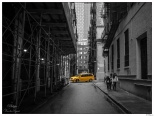 New York Old Street and Cab