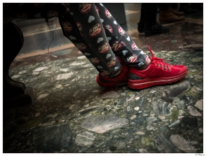 New York Red Shoes