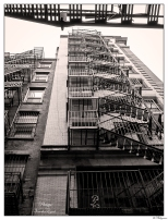 New York Stairs to the Sky