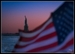 New York Statue Liberty Flag
