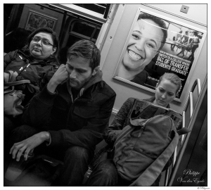 New York Subway Happyness