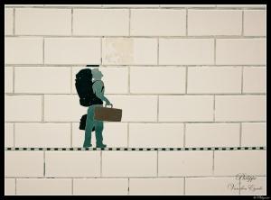 New York Subway Traveller