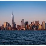 New York Sunset on Manhattan