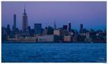 New York Sunset on Upper Manhattan