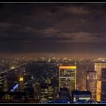 New York Upper Town Night View